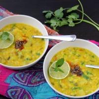 Minty Opo Squash and Lentil Soup/ Pudina Wali Lauki Dal
